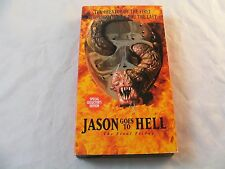 Jason Goes to Hell: The Final Friday VHS 1994 Special Collector's Edition