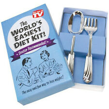 Big Mouth Toys - World's Easiest Diet - Joke box Fork Spoon Gag Gift