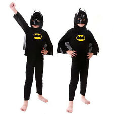 Superhero Kids Costume Halloween Capes anime Cosplay Costume Fancy Dress Outfit