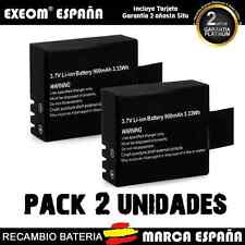 Bateria Recargable para CAMARA DEPORTIVA 900mAh Li-ion SJCAM o Similar