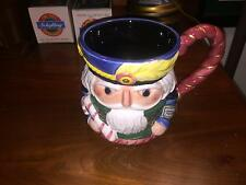 1992 FITZ AND FLOYD NUTCRACKER SWEETS SUGAR PLUM TANKARD NEW