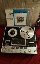 JVC 4 CHANNEL TAPE DECK 4RD-1405 with original instructions book,  very rare