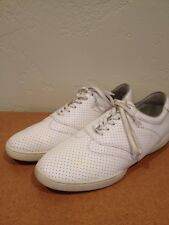 HUF Dylan Rieder Perforated Leather Skate Shoe - WHITE - Mens US 11 Supreme FA