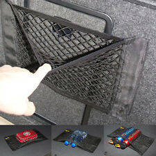 Black Car Rear Trunk Back Seat Cargo Elastic String Net Mesh Storage Bag Holder