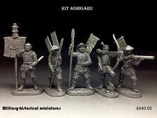 Tin soldiers 40 mm kit Ashigaru