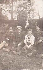 ✚723✚ German Field Postcard Feldpost WW1 88. LANDWEHR REGIMENT VISOR CAP BAYONET