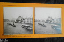 STA528 Paris Exposition Universelle 1900 Panorama Seine stereoview Photo 1900
