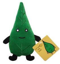 """LIL' LEIF THE LEAF GREEN 6.5"""" LITTLE DESINGER PLUSH WORLD MR TOAST DAN GOODSELL"""