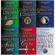 Diana Gabaldon Collection Outlander Series 6 Books Set Romance Pack Brand NEW PB