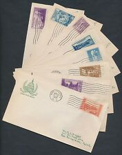 #752-771 ON FIRST DAY COVER SET MARCH 15,1935 BY GORHAM HV9808
