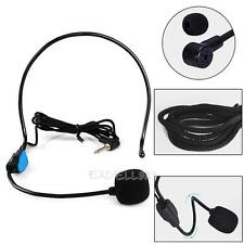 Wired Hands Free Headset Microphone Mic Megaphone Speaker System For Teacher