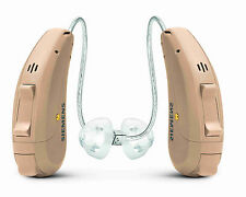 2PC New Siemens Signia Cellion 7px Rechargeable Hearing Aids Beige