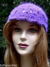Crocheted  Angora Hat  PATTERN