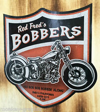 Rockabilly Oldschool Sticker Bobber Biker/CHOPPER HARLEY MOTO ADESIVO US