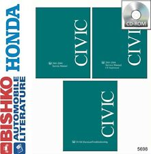 2003 2004 Honda Civic Shop Service Repair Manual CD Engine Drivetrain Electrical