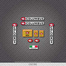 0238 Columbus AELLE Bicycle Frame and Fork Stickers - Decals