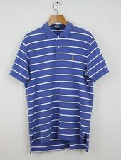 Vintage RALPH LAUREN Purple Striped Polo Shirt Top | Polo Sport Pony | Large L