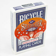 GT SPEEDREADER MARKED BICYCLE BLUE 809 MANDOLIN DECK PLAYING CARDS MAGIC TRICKS
