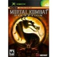 Mortal Kombat Deception Black Label Version XBOX NEW factory sealed