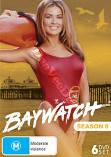 Baywatch - Season 8 NEW PAL/NTSC Cult 6-DVD Set Carmen Electra David Hasselhoff