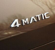 4MATIC 4 MATIC Trunk Emblem Rear Badge Decal Sticker for Mercedes Benz CLS GLA