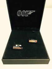 S.T. Dupont 007 James Bond Ingot Cufflinks - Brand New - NEW OLD STOCK!