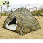 3-4 Person Outdoor Camping Waterproof Folding Instant Pop Up Tent Camouflage