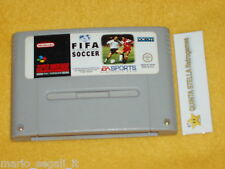 FIFA INTERNATIONAL SOCCER Super Nintendo versione PAL SNES cart only - solo cart