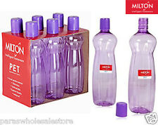 SET OF 2 - MILTON Fridge WATER BOTTLE 1 LITRE (1000ml)  Bottle - ORIGINAL ITEM