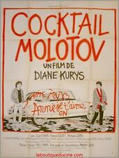 COCKTAIL MOLOTOV Affiche Cinéma Movie / Poster Diane Kurys CITROEN DS