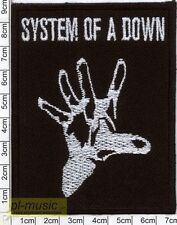 = SYSTEM OF A DOWN - embroidery patch ,aufnäher,naszywka  SOAD
