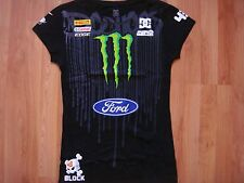 *** HOT ITEM** NWOT DC SHOES KEN BLOCK WOMEN MONSTER SUBARU FORD T SHIRT LARGE