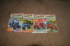 TRACTOR AND MACHINERY MAGAZINES (4 for sale) January-March2006 & October2006