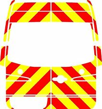 Merc Sprinter Chapter 8 / Reflective Rear 3/4 Chevron Graphic kit  Economy08-14