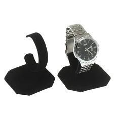 Présentoir Support en Velours Noir Porte Bijoux Montre Bracelet 62mm