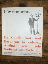 L'événement N°15 De Gaulle Emmanue d'Astier Svetlana Staline Johnson Ky Patrix