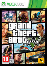 GTA: GRAND THEFT AUTO V (5) XBOX 360 BRAND NEW SEALED OFFICIAL PAL
