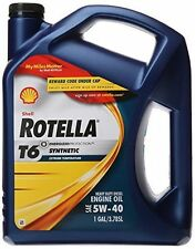 Shell Rotella T6 5W-40 Motor Oil 3X1 Gal (Case of 3)