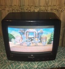 """Panasonic 9"""" TV/ Road Show AC/DC  Unit No Remote Tested Fully Works"""
