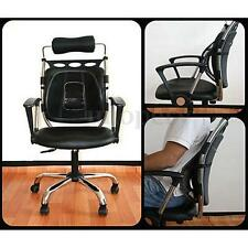 Car Seat Office Chair Massage Lower Back Mesh Support Cushion Pain Relief Pad