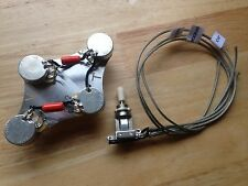 50's Wiring Gibson Epiphone Les Paul 500k CTS 022 Orange Drop Switchcraft Toggle