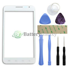 White Replacement Screen Glass Lens for Samsung Galaxy Note 1 SGH-i717 + Tools