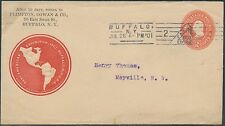 PAN-AMERICAN EXPO COVER JULY 26,1901 TO MAYVILLE, NY BR9591