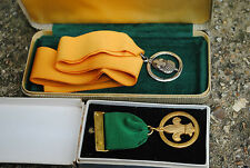 Old scout medals inc. silver acorn