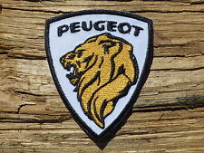 ECUSSON PATCH THERMOCOLLANT aufnaher toppa PEUGEOT voiture automobile moto