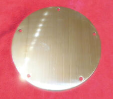 HARLEY TWIN CAM DERBY COVER -Solid Brass -