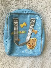 NWOT SANRIO CHIBIMARU Puppy Dog Blue Vinyl PURSE Bag Vtg 2003 HTF