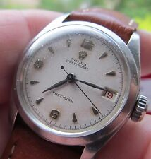 Vintage gents steel Rolex wrist watch