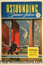 Astounding (British) Dec 1943 Ray Bradbury, Murray Leinster, Anthony Boucher