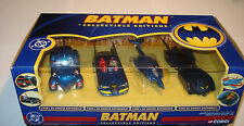 CORGI BATMOBILE 1:43 comics blue COLLECTABLE EDITION batman action figure no1:18